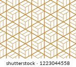 the geometric pattern with... | Shutterstock .eps vector #1223044558
