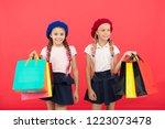 children pupils satisfied by... | Shutterstock . vector #1223073478