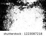 grunge dust messy background.... | Shutterstock .eps vector #1223087218