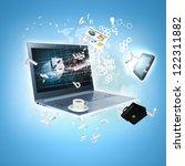 best internet concept of global ... | Shutterstock . vector #122311882