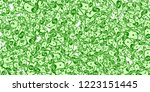 american dollar notes falling.... | Shutterstock .eps vector #1223151445