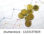 thai gold thai baht money | Shutterstock . vector #1223157835