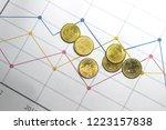 thai gold thai baht money | Shutterstock . vector #1223157838