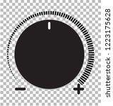 volume control icon. volume... | Shutterstock .eps vector #1223175628