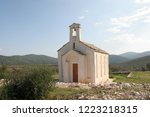 blato  croatia   september 02 ... | Shutterstock . vector #1223218315
