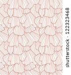 doodle abstract frills seamless ...   Shutterstock . vector #122323468