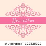 vector vignette for the... | Shutterstock .eps vector #122325322