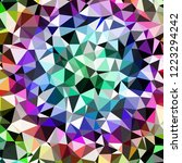 abstract background multicolor... | Shutterstock . vector #1223294242