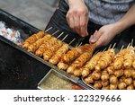 Chinese Street Food Vendor...