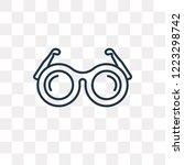 shutter sunglasses vector... | Shutterstock .eps vector #1223298742
