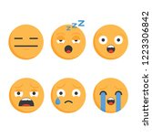 smile icons.set of emoticons.... | Shutterstock .eps vector #1223306842