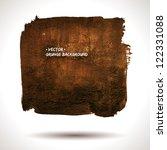 grunge background. watercolor... | Shutterstock .eps vector #122331088