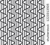 vector seamless pattern. modern ... | Shutterstock .eps vector #1223313505