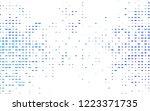 light blue vector background... | Shutterstock .eps vector #1223371735