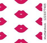 lips seamless pattern | Shutterstock .eps vector #1223377405
