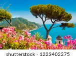 scenic panoramic view of famous ... | Shutterstock . vector #1223402275