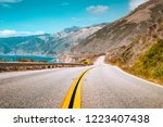 scenic view of world famous... | Shutterstock . vector #1223407438