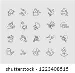 vector icon and logo for... | Shutterstock .eps vector #1223408515