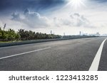 roads and modern cities | Shutterstock . vector #1223413285
