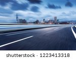 the road and the hongkong... | Shutterstock . vector #1223413318