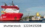 port of amsterdam  noord... | Shutterstock . vector #1223415208