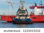 port of amsterdam  noord... | Shutterstock . vector #1223415232