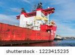 port of amsterdam  noord... | Shutterstock . vector #1223415235