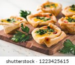ideas and recipes for healthy... | Shutterstock . vector #1223425615