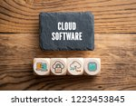 """slate plate with message """"cloud ... 