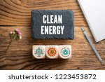 """slate plate with message """"clean ... 