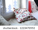 christmas gifts  greeting...   Shutterstock . vector #1223470552