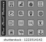 navigation transport and map...   Shutterstock .eps vector #1223514142