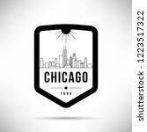 Chicago City Modern Skyline...