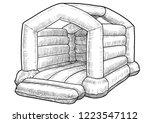 Bouncy Castle Illustration ...