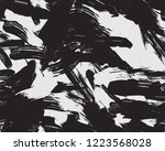 paint stain camo pattern | Shutterstock .eps vector #1223568028