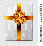 vector new year and christmas... | Shutterstock .eps vector #1223578555