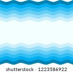 waves art deco design... | Shutterstock .eps vector #1223586922