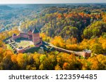 amazing aerial view over the... | Shutterstock . vector #1223594485