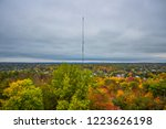 transmitter in the middle of... | Shutterstock . vector #1223626198