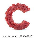 brain alphabet isolated on... | Shutterstock . vector #1223646295