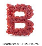brain alphabet isolated on... | Shutterstock . vector #1223646298