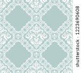 classic seamless vector pattern.... | Shutterstock .eps vector #1223690608