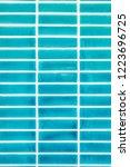 blue mosaic background | Shutterstock . vector #1223696725