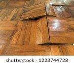 Damaged Parquet Floor Because...