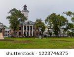 historic buildings in the... | Shutterstock . vector #1223746375