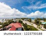 Majuro Town Centre Aerial View...