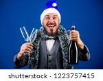 christmas party organisers....   Shutterstock . vector #1223757415