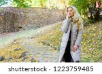 puffer jacket casual and... | Shutterstock . vector #1223759485