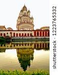 image of the distinctive vimana ... | Shutterstock . vector #1223765332