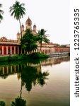 image of the distinctive vimana ... | Shutterstock . vector #1223765335